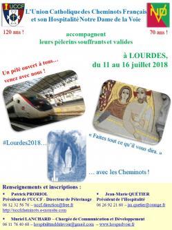 Hndv uccf affiche lourdes 2019